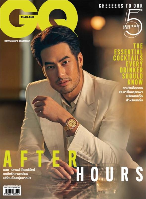 GQ THAILAND MAGAZINE September 2019