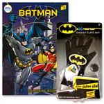 Gift set สมุดภาพระบายสี BATMAN + ถุงมือยิงเหรียญ