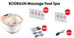 BODRAUN Spa Foot Massage