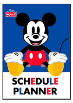 PLANNER A5 MICKEY