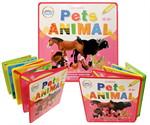 แบบหัดอ่าน Pets Animal (แผ่นพับโฟม)