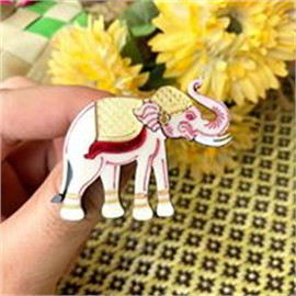 Brooch Elephant