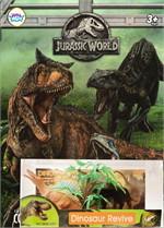Gift Set สมุดภาพระบายสี Jurassic World + Dinosaur Revive