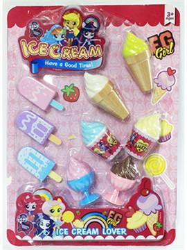 MY LITTLE PONY EQUESTRIA GIRLS Girl TRIBE + ชุดไอศกรีม