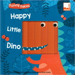 Funny Faces - Happy Little Dino
