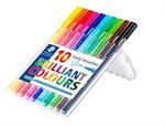 ชุดปากกาไตรพลัส บอร์ดไลน์เนอร์ 10 สี