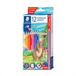 STAEDTLER ดินสอสีไม้ยาว 12 สี