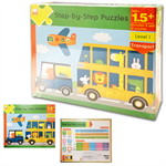 Step-by-Step Puzzles : Level 1 Transport (Ages 1.5+)