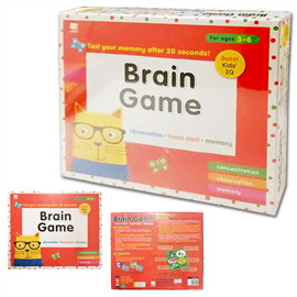 Brain Game : Observation, Head start, Memory