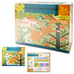 Step-by-Step Puzzles : Level 3 In the Garden (Ages 3+)