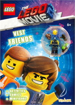 The Lego Movie 2 : Vest Friends Activity Book with Minifigure