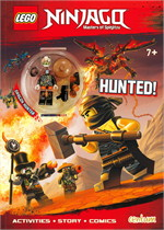 Lego Ninjago : HUNTED! Activity Book with Minifigure