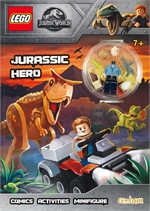 Lego Jurassic World : JURASSIC HERO Activity Book with Minfigure