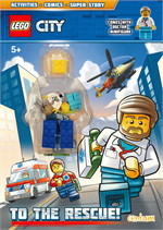 Lego City : To the Rescue! Activity Book with Minifigure