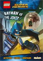 Lego DC Comics Super Heroes : BATMAN vs THE JOKER! Activity Book with Minifigure