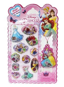 Disney Princess Special เจ้าหญิงผู้แสนวิเศษ + Magic Stickers & Strap