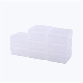 SV UDEE กล่องพลาสติกเล็กแพค 8 ขาว