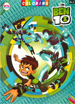 COLORING BOOK BEN 10 No.2