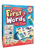 Trilingual First Words for Kids (Talking Pen English Chinese Thai Box Set)