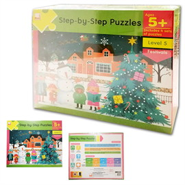 Step By Step Puzzle -Age 5+Festivals