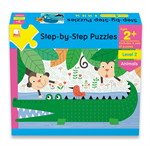 StepByStep Puzzle -Age2+ Animals PLI