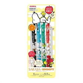 ปากกาSARASA Clip Snoopy Set B