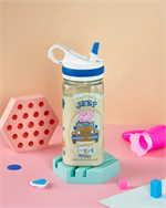 กระบอกน้ำพลาสติกPeppa Pig สีฟ้า