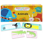 Match & Learn Puzzle Pairs-Animals PLI