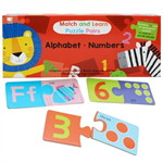 Match & Learn Puzzle Pairs-Alphabet PLI