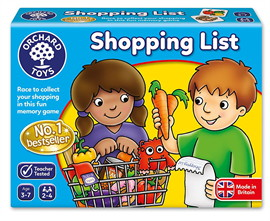 Orchard Toys, Shopping List Game
