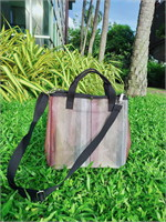 CANDY  CANE PISA Tote สี Classic Brown