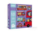 Mideer มิเดียร์ Jigsaw My first puzzle-Car จิ๊กซอว์สำหรับเด็กเล็ก (2+)