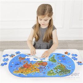 Mideer มิเดียร์ Our World Floor Puzzle จิ๊กซอว์โลกของเรา (3+)