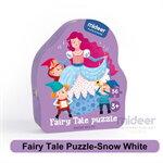Mideer มิเดียร์ Fairy Tale Puzzle-Snow White จิ๊กซอว์เล่านิทาน (สำหรับน้อง 2-3 ขวบ)