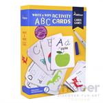 Mideer มิเดียร์ Write&wipe Activity-ABC Cards การ์ดกิจกรรมเพื่อการเรียนรู้ ตัวอักษร