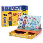 Mideer มิเดียร์ Magnets-Dressing Puzzle Games กล่องกิจกรรมแม่เหล็กเสริมสร้างจินตนาการ (3+)