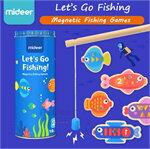 Mideer มิเดียร์ MAGNETIC FISHING GAMES เกมส์ตกปลาแม่เหล็ก (2+)