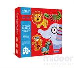 Mideer มิเดียร์ Jigsaw My first puzzle-Animal จิ๊กซอว์สำหรับเด็กเล็ก (2+)