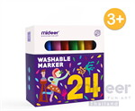 Washable Marker-24 ปากกาเมจิกลบได้ 24 สี