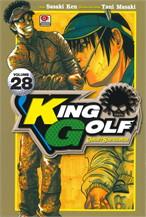 KING GOLF จอมซ่าราชานักหวด เล่ม 28 (คอมมิค)
