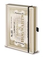 Harry Potter (Hogwarts Express Ticket) Notebook