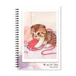Notebook CatStory ปกอ่อนสันห่วง(แบบที่4)