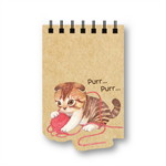 Pursenote ไดคัทสันห่วง Cat Story (แบบที่4)