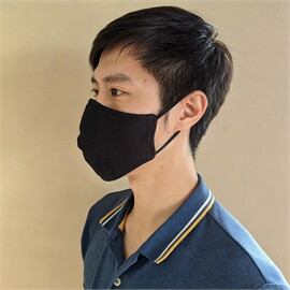 หน้ากากผ้า ผู้ชาย 2 ชั้น 4 ชิ้น(คละลาย)