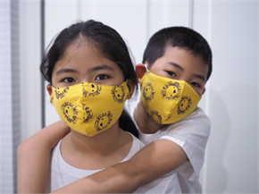 หน้ากากผ้าเด็ก 5 - 7 ปี 3 ชิ้น (คละลาย)