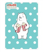 สมุดริมด้าย B5 WE BARE BEARS #WBB2020-ICE