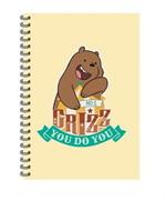 สมุดริมลวด A5 WE BARE BEARS #WBB2023-Griz