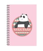 สมุดริมลวด A5 WE BARE BEARS #WBB2023-PAN