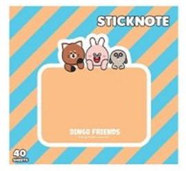 กระดาษโน๊ต dingo friends DG803
