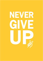 สมุุดโน๊ต A5 Never give up